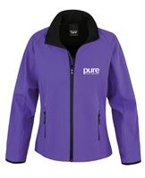 Pure-Ladies-Softshell-Jacket-purple-black