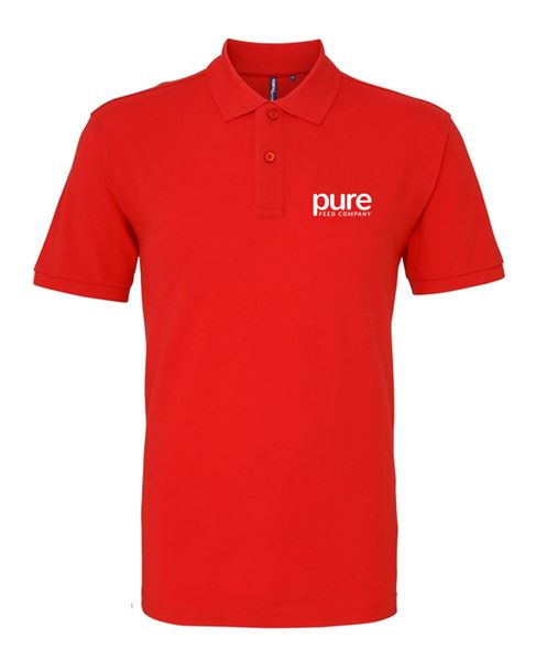 Pure-ladies-polo-red