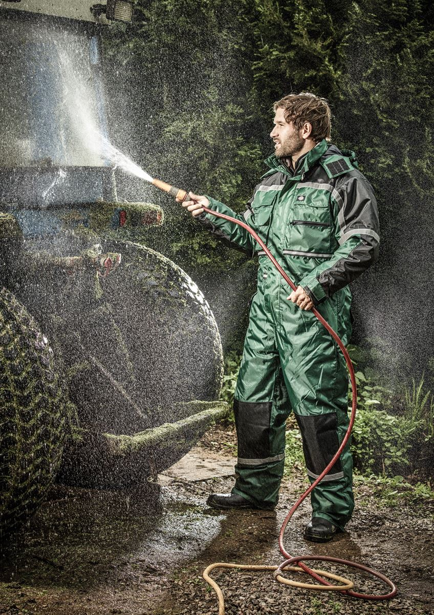 WP15000-GN-Waterproof Padded Coverall-LOC Centurion