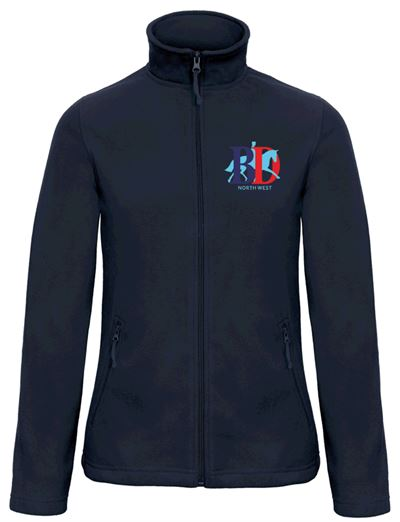 LADIES FLEECE NORTH WEST LOGO