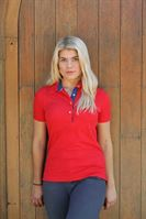 red polo top 2