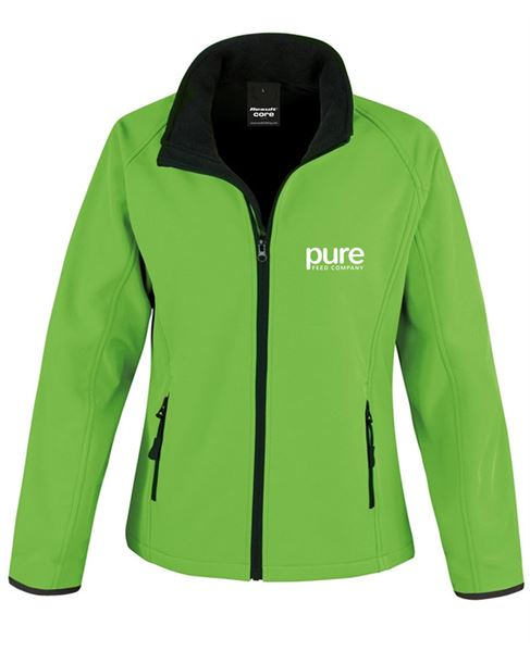Pure-Ladies-Softshell-Jacket-vividGreen-black