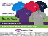Tylers POLO SHIRT OFFER_300x225