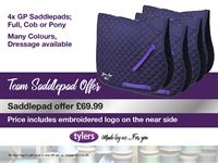 Tylers TEAM Saddlepad Offer 300x225