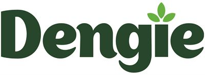 Dengie logo - green on white background